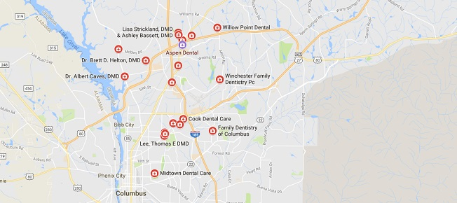 Emergency Dentists in Columbus, GA - Find a 24Hr Dentist