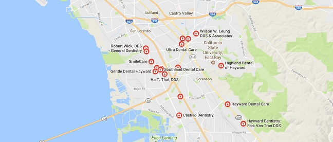 24 hour dentist hayward options