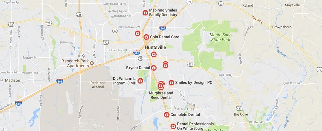 24 hour dentist huntsville options