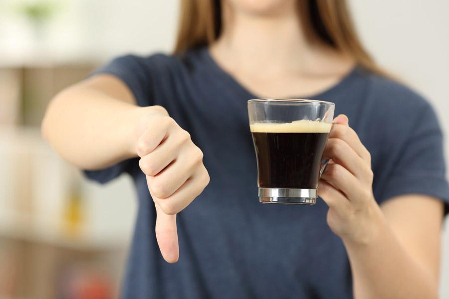 Avoid Acidic Drinks