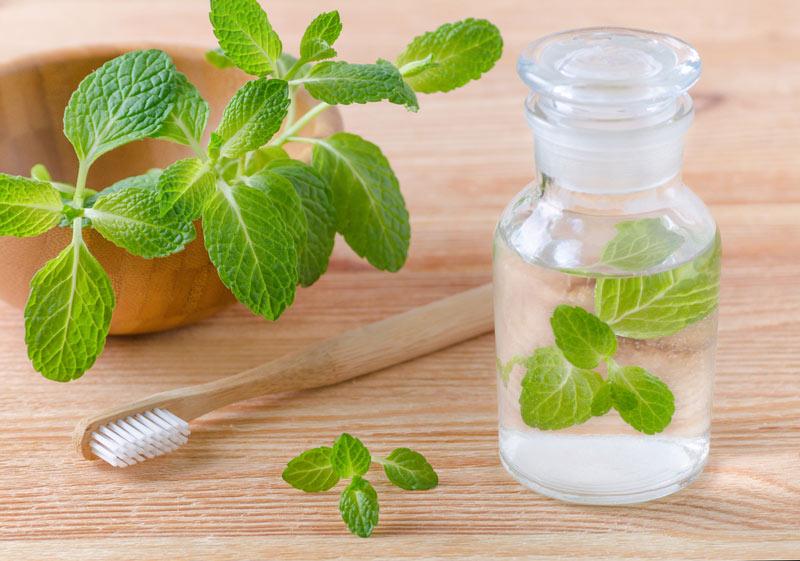 Baking Soda Salt Rinse