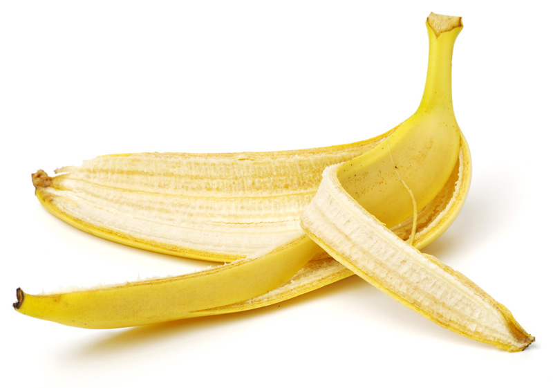 Banana Peel Rub