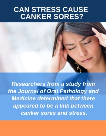 Can Stress Cause Canker Sores