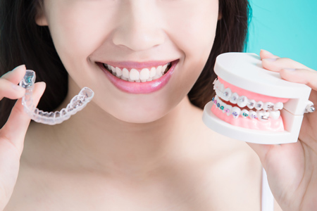 Invisalign and traditional braces