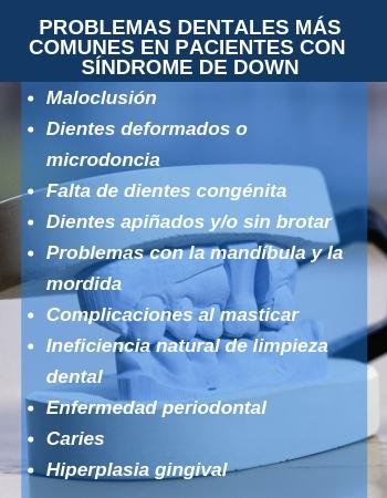 Problemas Dentales más Comunes en Pacientes con Síndrome de Down