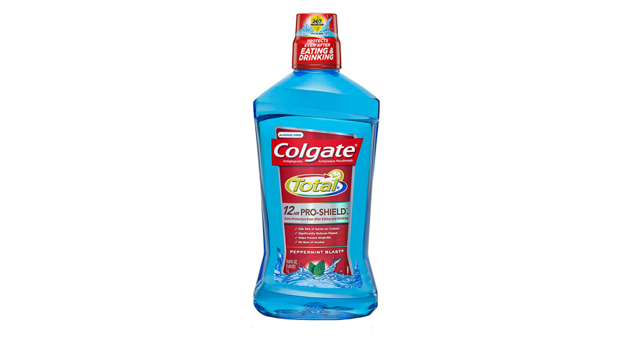Runner-up Colgate Total Pro-Shield Mouthwash, Peppermint