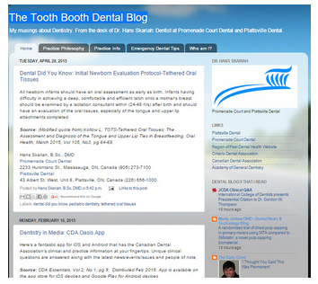 The Tooth Booth Dental Blog