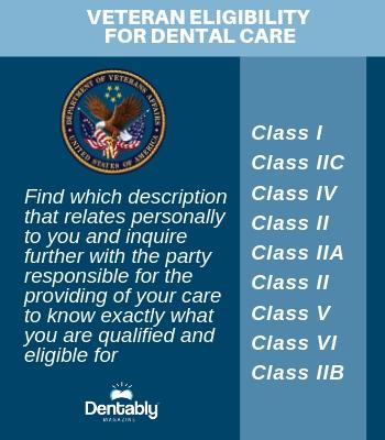Veteran Eligibility for Dental Care