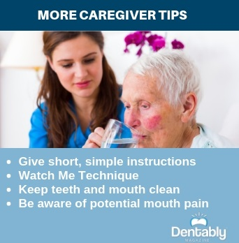 alzheimers caregivers dental tips