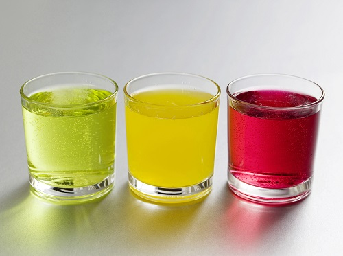 color drinks image