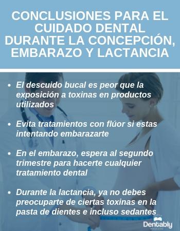 cuidado dental durante embarazo