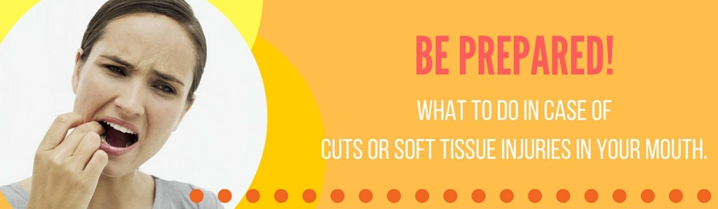 cuts or soft tissue injuries