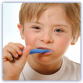 down syndrome oraly hygiene