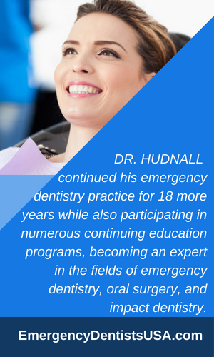 dr david hudnall dmd about