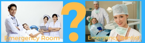 emergency room vs emergency dentist