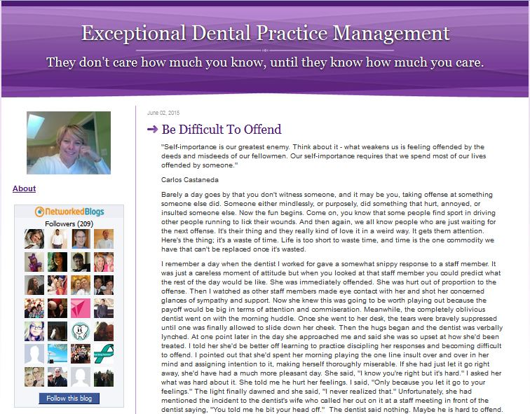 exceptional dental practices