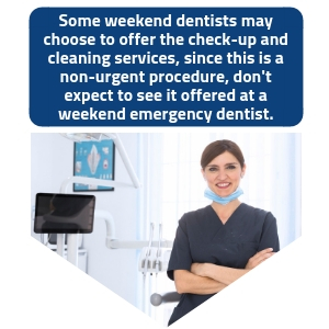 how can weekend dental clinics help me
