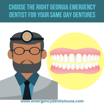how to choose the right emergency denture repair in georgia