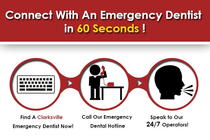 emergency dentist Clarksville