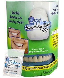 instant smile temporary tooth kit image