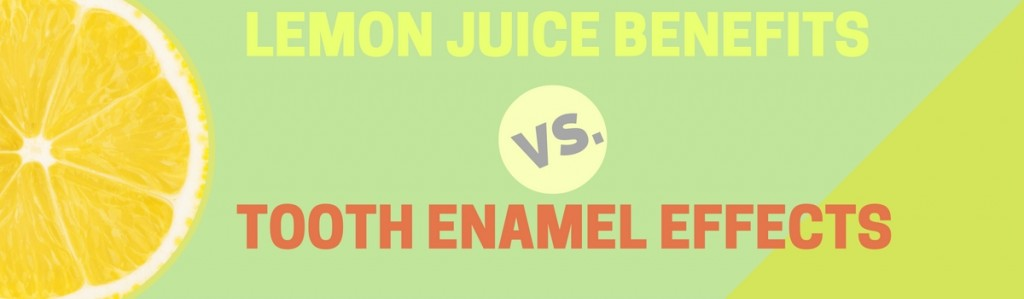 lemon juice tooth enamel