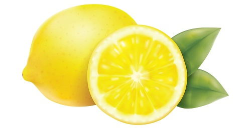 lemon acidic food image