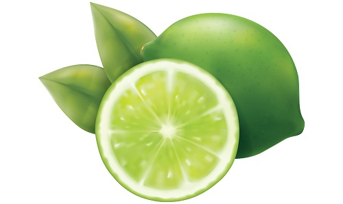 lime acidic food