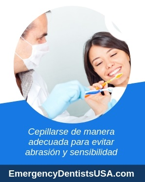 manera correcta de lavarse los dientes
