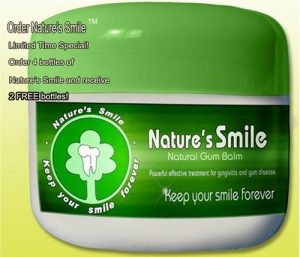 natures smile natural gum balm image