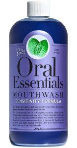 oral essentials sensitive mouthwash image