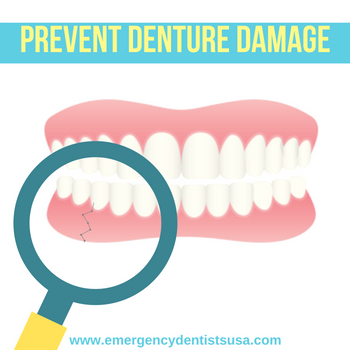 prevent denture damage birmingham