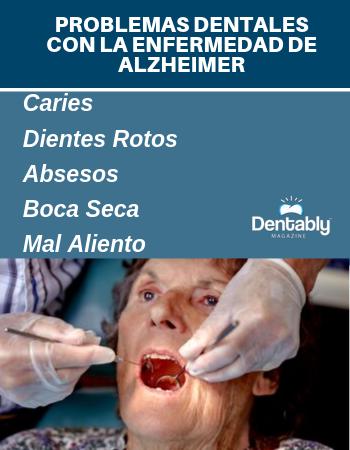 problemas dentales con la enfermedad de alzheimer