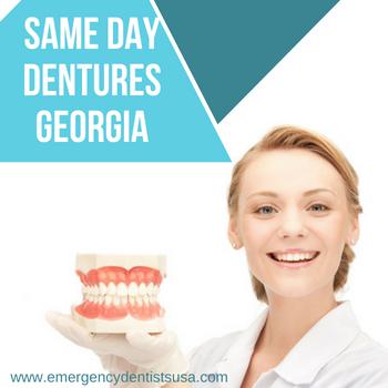 same day dentures georgia