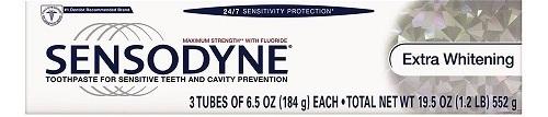sensodyne toothpaste image