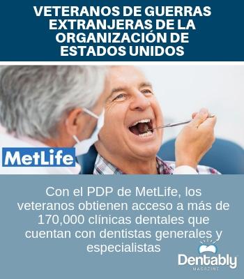 veteranos de guerra extranjeras cuidado dental